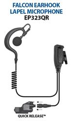 Ear Phone Connections Falcon EP323QR Lapel Mic
