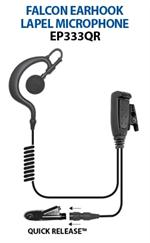 Ear Phone Connections Falcon EP333QR Lapel Mic