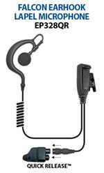 Ear Phone Connections Falcon EP328QR Lapel Mic